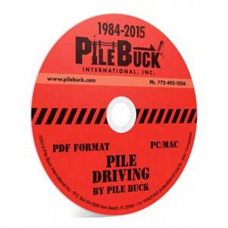 Pile Driving (CD-ROM)