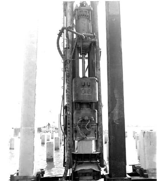 Figure 3-7 Typical Single-Acting Air/Steam Hammer