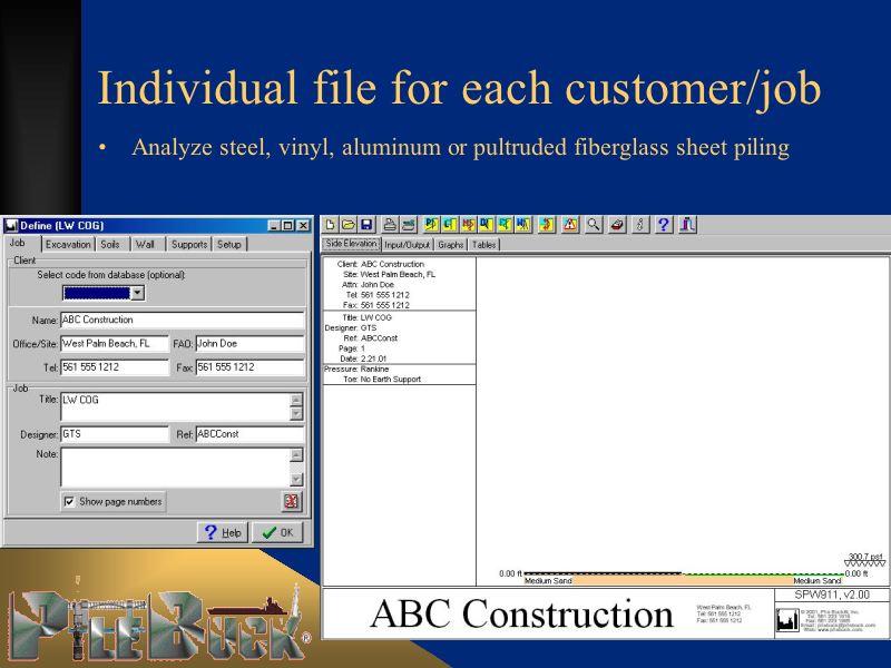 alumi sheet pilings