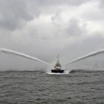 scow for dredging