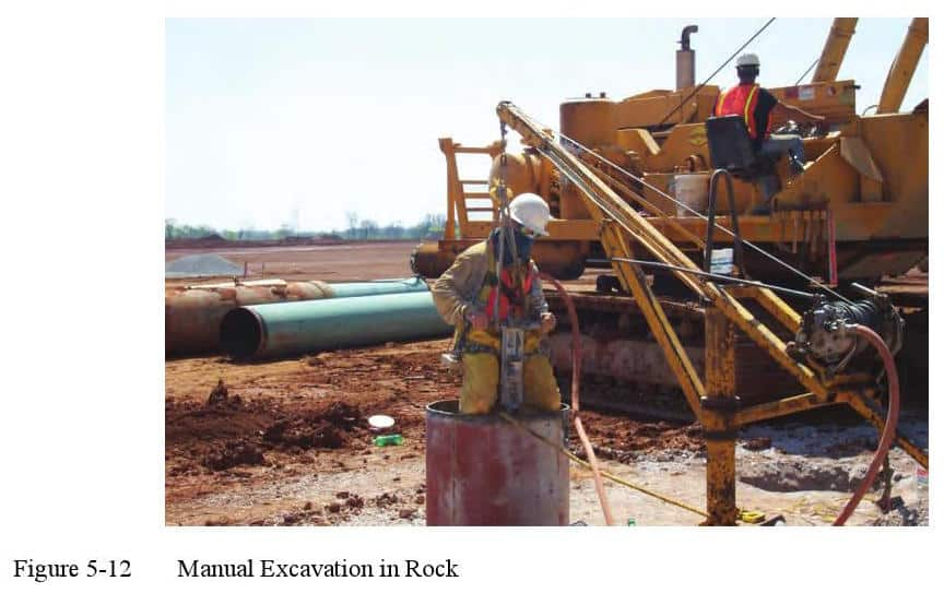 ManualExcavationRock