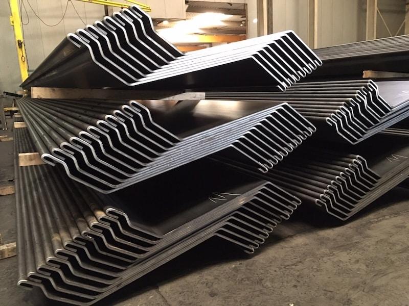 Hot Rolled Vs Cold Formed Steel Sheet Pile Pile Buck