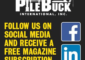 Follow Pile Buck on Social Media and Receive Free Magazine Subscription