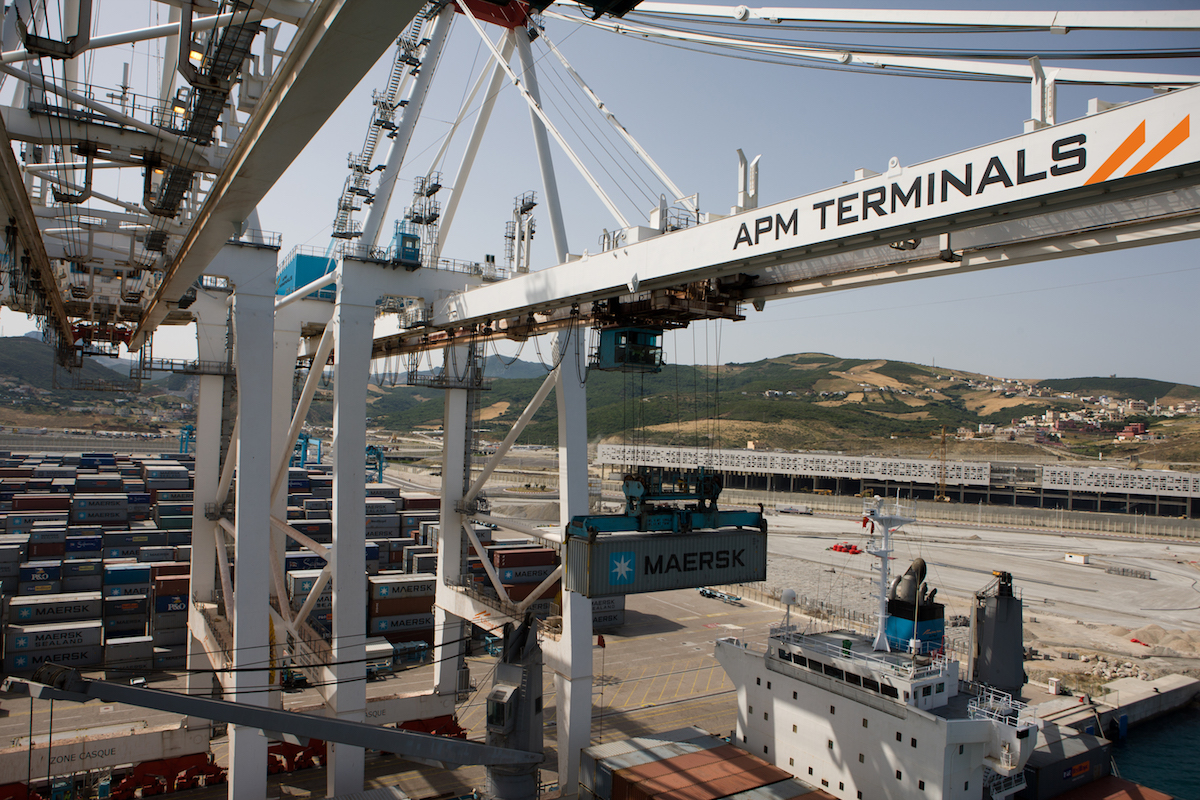 APM Terminals, Tangier, Morocco, 29 June 2011