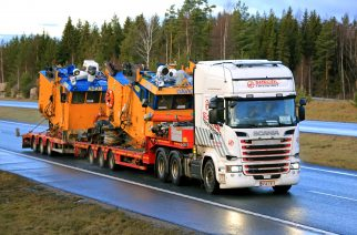 Transporting and Storing Cranes, Pile & Drilling Rigs, and Marine Equipment