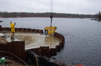 Cellular Cofferdams Vital to Marine Construction