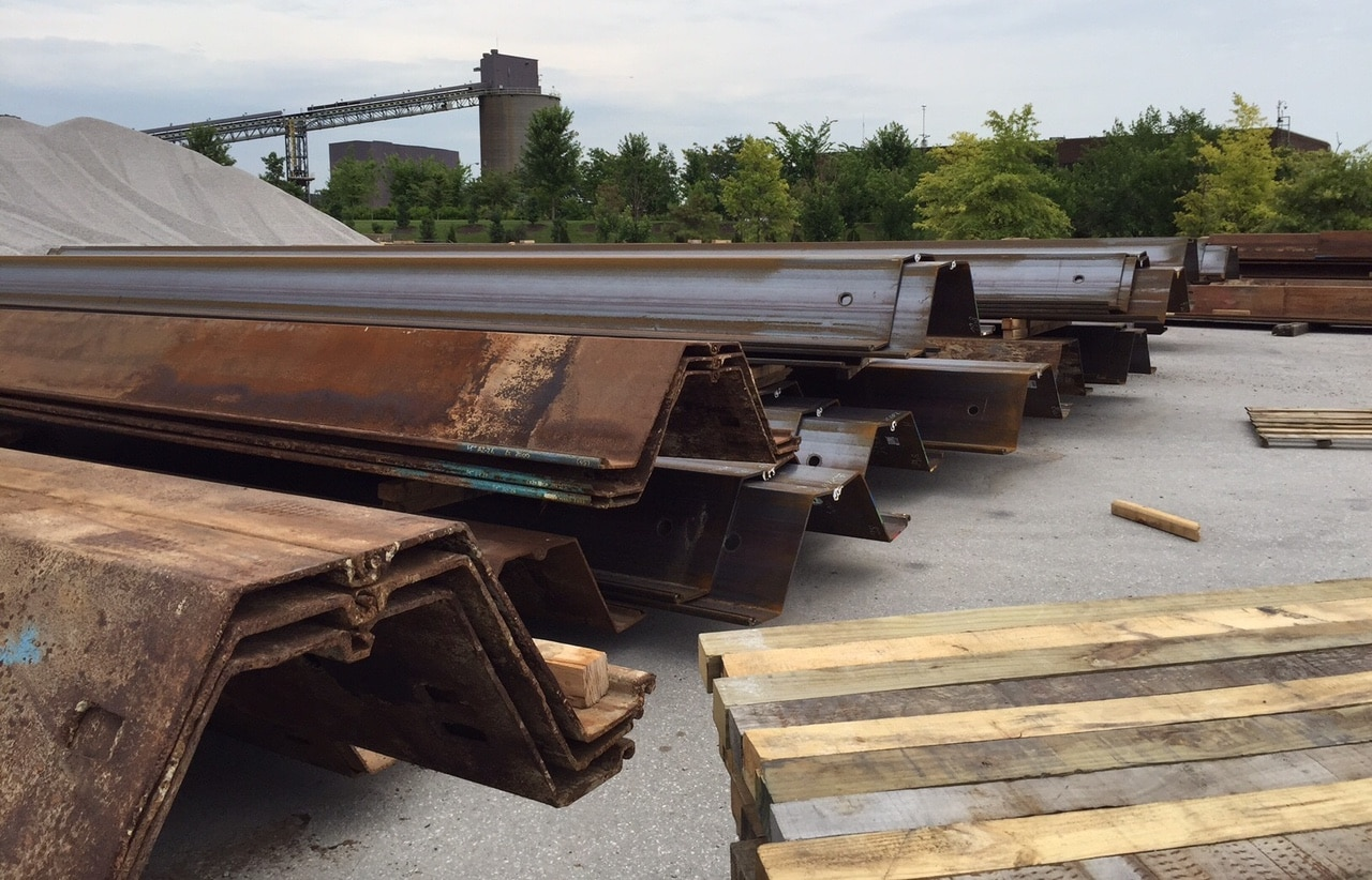 Steel Sheet Piling Corrosion And Protection Pile Buck