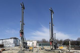 Drilling Rigs Deployed for Plant Expansion at Airbus Defence and Space