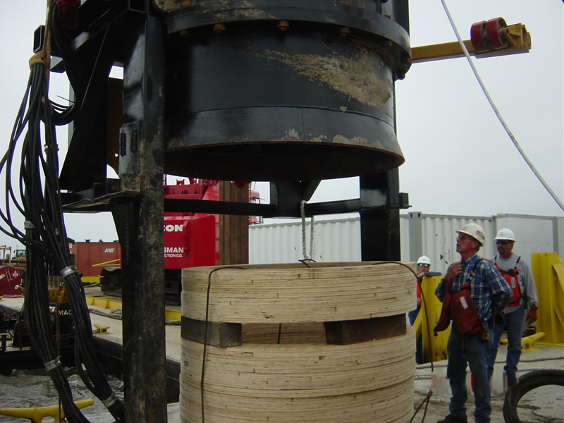 Photo credit: Specialty Piling Systems