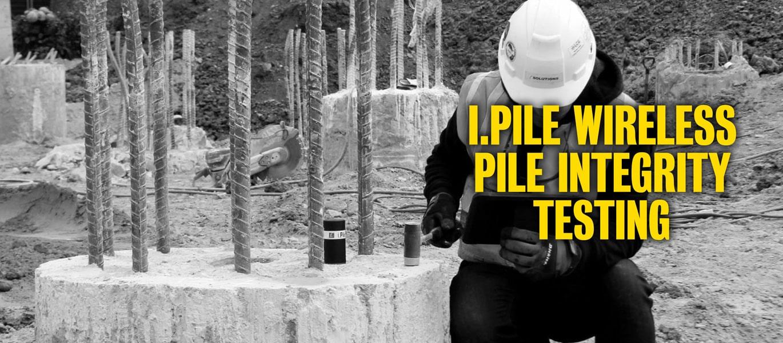 IPile Wireless Pile Integrity Testing