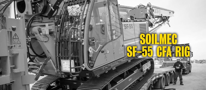 Soilmec SF-55 CFA RIG