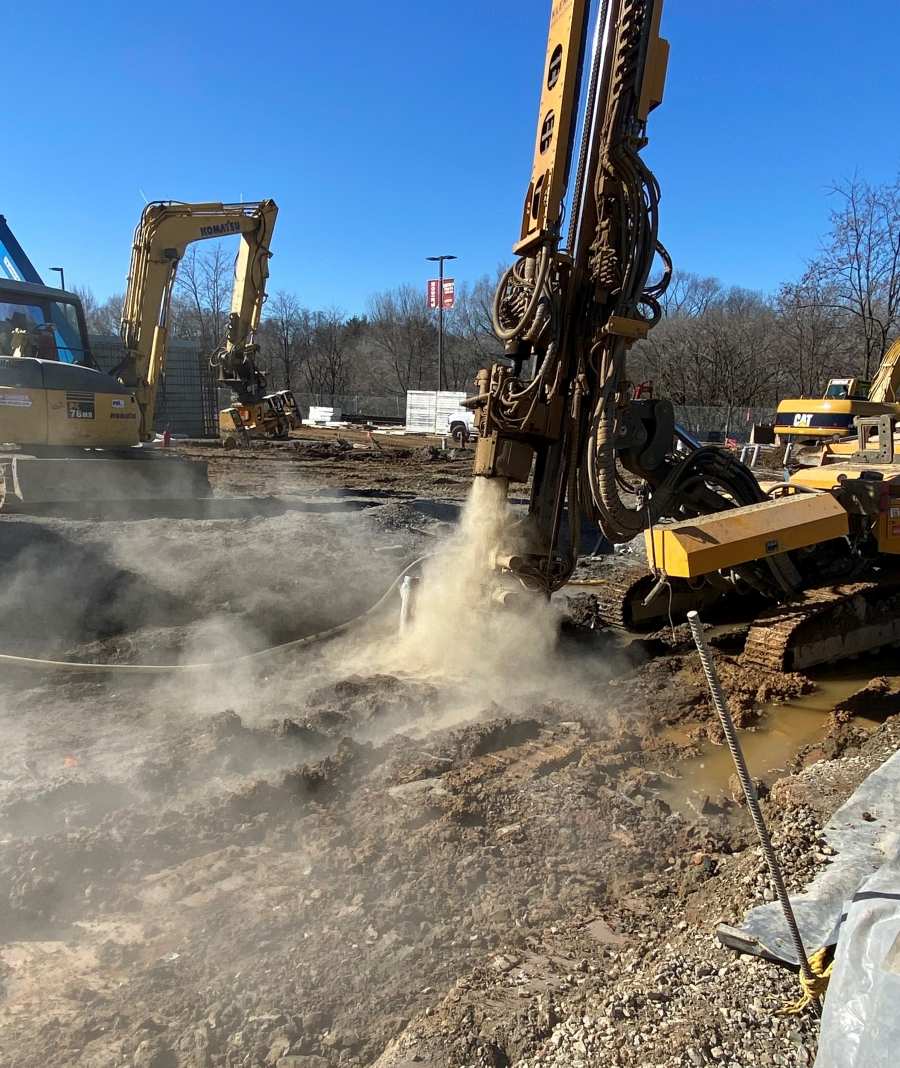 Contractor Drives Micropile Production, Safety with KLEMM Equipment