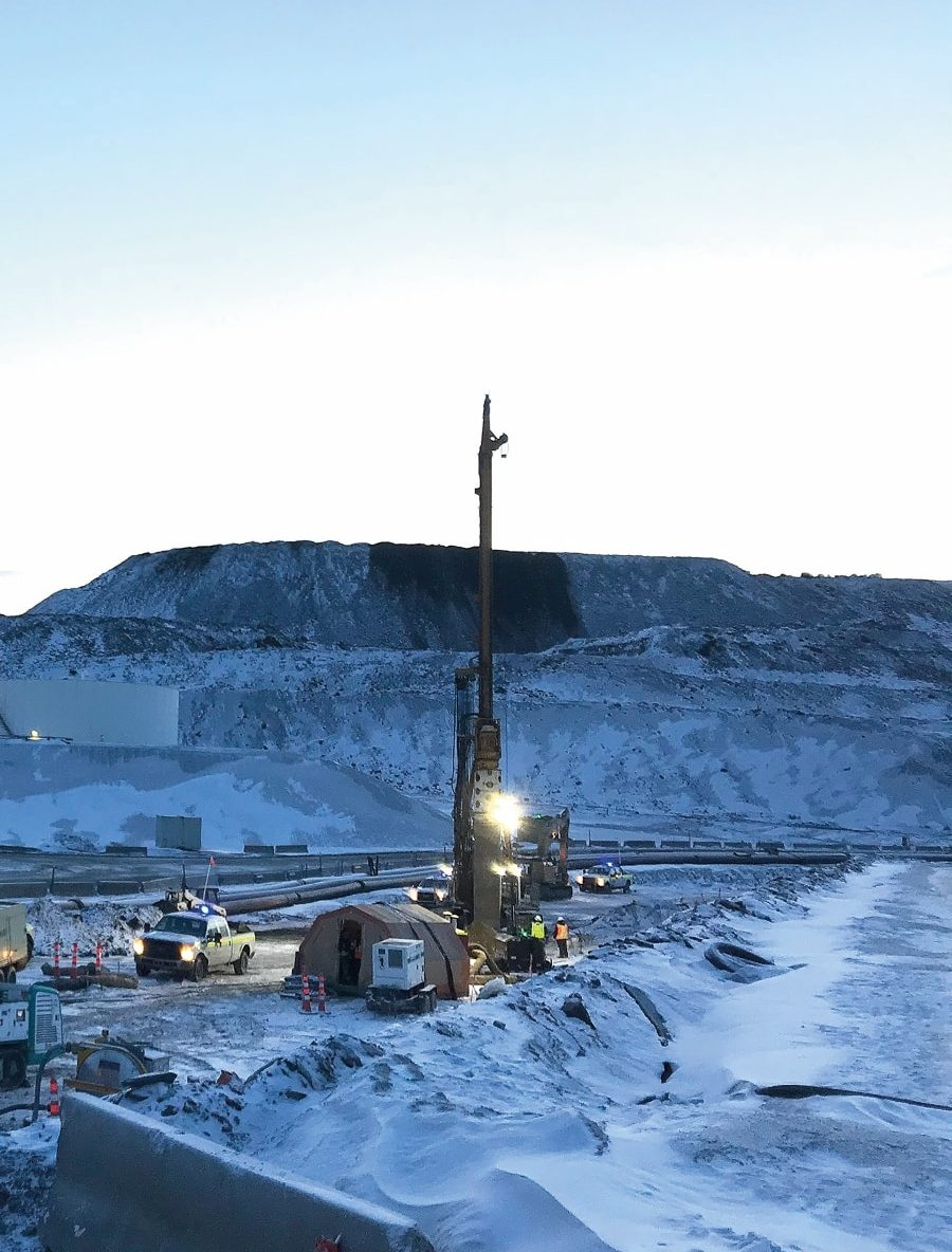 Red Dog Mine Alaska: Ground improvement in permafrost